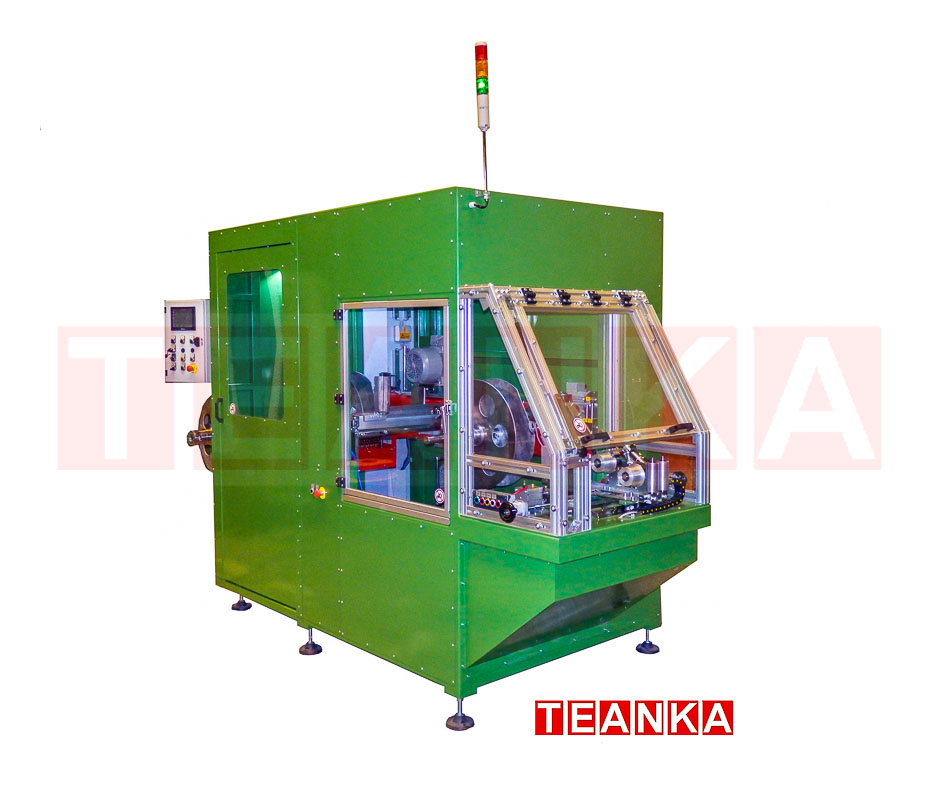 Winding stations for pipe lines by teanka