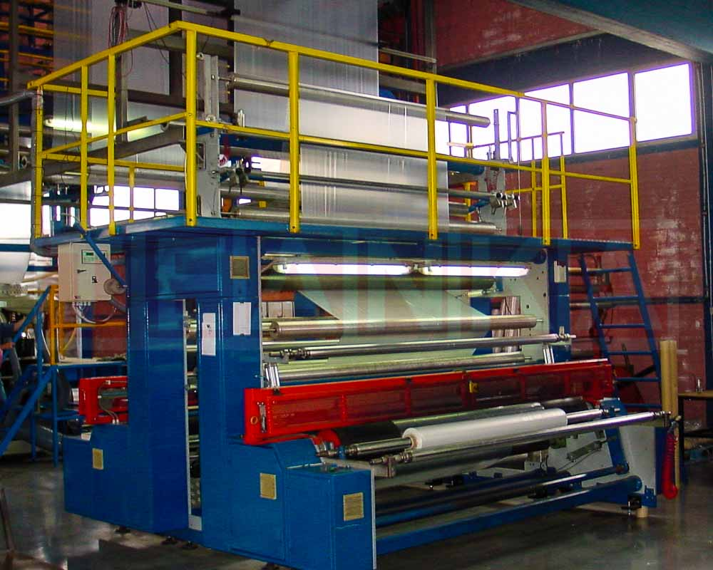 film winding stations for plastic film machine lines by teanka
