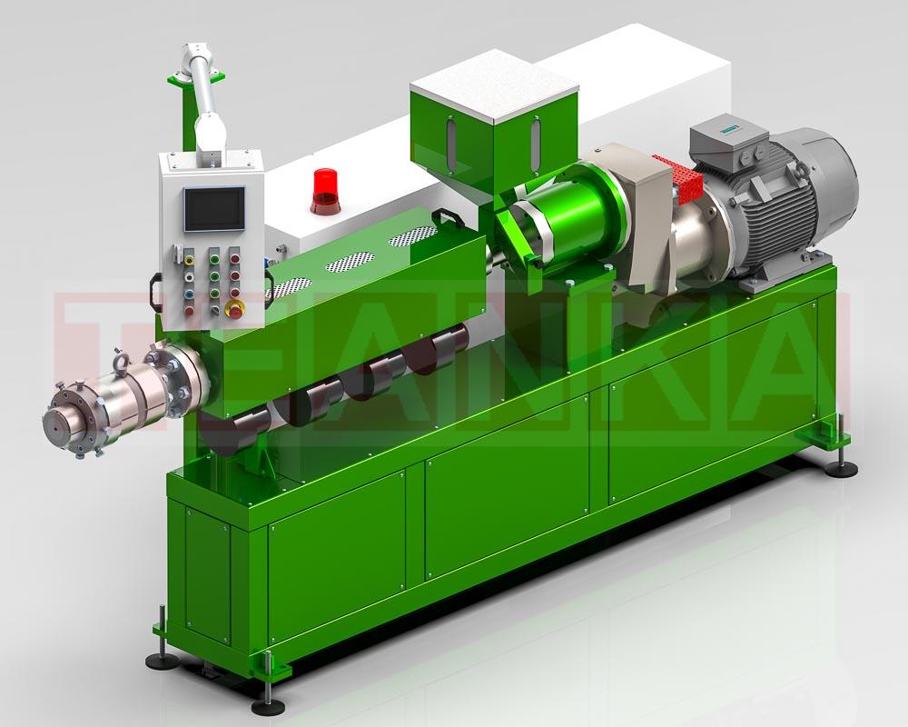 μηχάνημα extruder από την τεάνκα